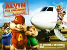 Alvin and the Chipmunks: The Squeakquel - British Movie Poster (xs thumbnail)