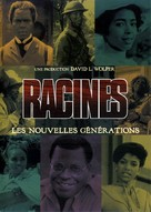 """""""Roots: The Next Generations"""" - French DVD movie cover (xs thumbnail)"""