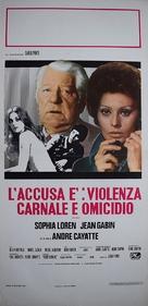 Verdict - Italian Movie Poster (xs thumbnail)