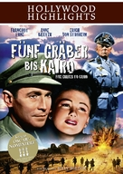 Five Graves to Cairo - German Movie Cover (xs thumbnail)