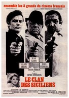 Le clan des Siciliens - French Movie Poster (xs thumbnail)