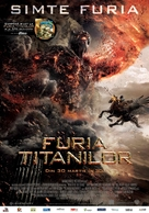 Wrath of the Titans - Romanian Movie Poster (xs thumbnail)