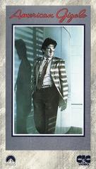 American Gigolo - Italian VHS movie cover (xs thumbnail)