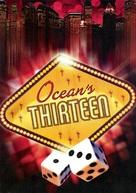 Ocean's Thirteen - German DVD cover (xs thumbnail)
