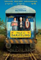 The Darjeeling Limited - Spanish Movie Poster (xs thumbnail)