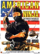 Nine Deaths of the Ninja - French Movie Poster (xs thumbnail)