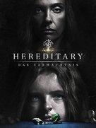 Hereditary - German Movie Cover (xs thumbnail)