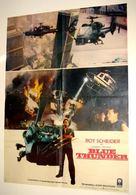 Blue Thunder - Pakistani Movie Poster (xs thumbnail)