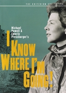 'I Know Where I'm Going!' - DVD movie cover (xs thumbnail)