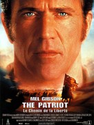 The Patriot - French Movie Poster (xs thumbnail)
