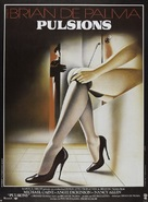 Dressed to Kill - French Movie Poster (xs thumbnail)