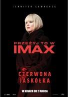 Red Sparrow - Polish Movie Poster (xs thumbnail)