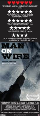 Man on Wire - Danish Movie Poster (xs thumbnail)