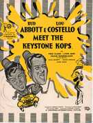 Abbott and Costello Meet the Keystone Kops - British Movie Poster (xs thumbnail)
