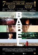Babel - Turkish Movie Poster (xs thumbnail)