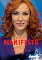 Manifesto - German Movie Poster (xs thumbnail)