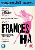 Frances Ha - British DVD cover (xs thumbnail)