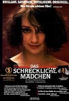 Das schreckliche Mädchen - German Movie Poster (xs thumbnail)