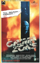 Crime Zone - Finnish VHS movie cover (xs thumbnail)