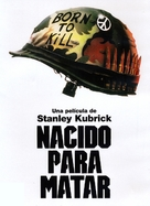 Full Metal Jacket - Argentinian Movie Cover (xs thumbnail)