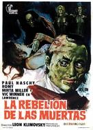 La rebelión de las muertas - Spanish Movie Poster (xs thumbnail)