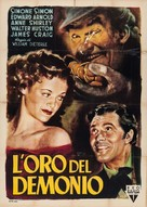 The Devil and Daniel Webster - Italian Movie Poster (xs thumbnail)