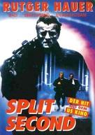 Split Second - German DVD cover (xs thumbnail)