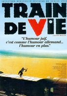 Train de vie - French Movie Poster (xs thumbnail)