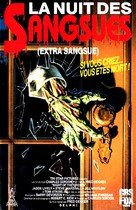 Night of the Creeps - French VHS cover (xs thumbnail)