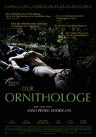 O Ornitólogo - German Movie Poster (xs thumbnail)