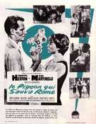 The Pigeon That Took Rome - French Movie Poster (xs thumbnail)