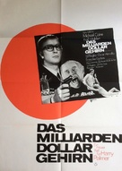 Billion Dollar Brain - German Movie Poster (xs thumbnail)