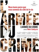 L'armée du crime - French Movie Poster (xs thumbnail)