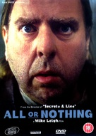 All or Nothing - British DVD cover (xs thumbnail)