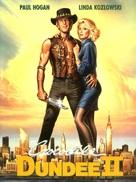 Crocodile Dundee II - German DVD movie cover (xs thumbnail)