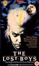 The Lost Boys - British VHS movie cover (xs thumbnail)