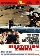 Ice Station Zebra - German Movie Poster (xs thumbnail)