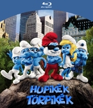The Smurfs - Hungarian Blu-Ray cover (xs thumbnail)