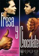 Fresa y chocolate - Spanish Movie Poster (xs thumbnail)