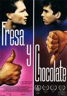 Fresa y chocolate - Spanish Movie Poster (xs thumbnail)
