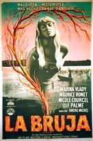 La sorcière - Argentinian Movie Poster (xs thumbnail)