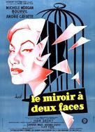 Le miroir à deux faces - French Movie Poster (xs thumbnail)