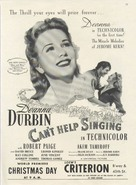 Can't Help Singing - poster (xs thumbnail)