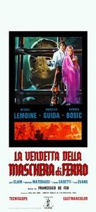 La vendetta della maschera di ferro - Italian Movie Poster (xs thumbnail)