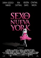 Sex and the City - Spanish Movie Poster (xs thumbnail)