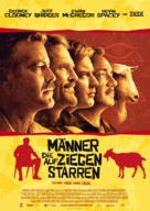 The Men Who Stare at Goats - German Movie Poster (xs thumbnail)