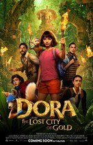 Dora and the Lost City of Gold - Movie Poster (xs thumbnail)