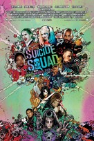 Suicide Squad - Danish Movie Poster (xs thumbnail)