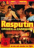 Rasputin - Orgien am Zarenhof - German DVD cover (xs thumbnail)