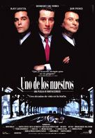 Goodfellas - Spanish Movie Poster (xs thumbnail)